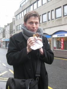 Sampling the delicacies of Scotland