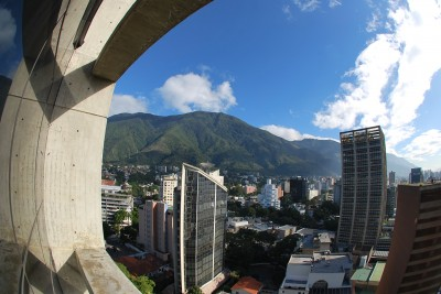 View from my office of Caracas City