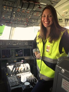 Me in the cockpit of the MD11