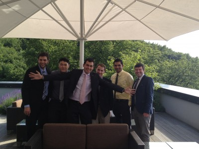 Some of the boys at the IAP 2011 graduation