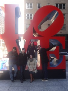 Part of the colleagues from The America's IAPs giving some love in Manhattan