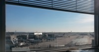 Great office view in FRA