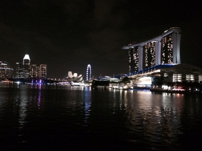 Singapore Waterside view, by Adrian