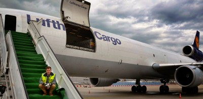 Behind the scenes: WM-Photoshooting der Lufthansa Cargo