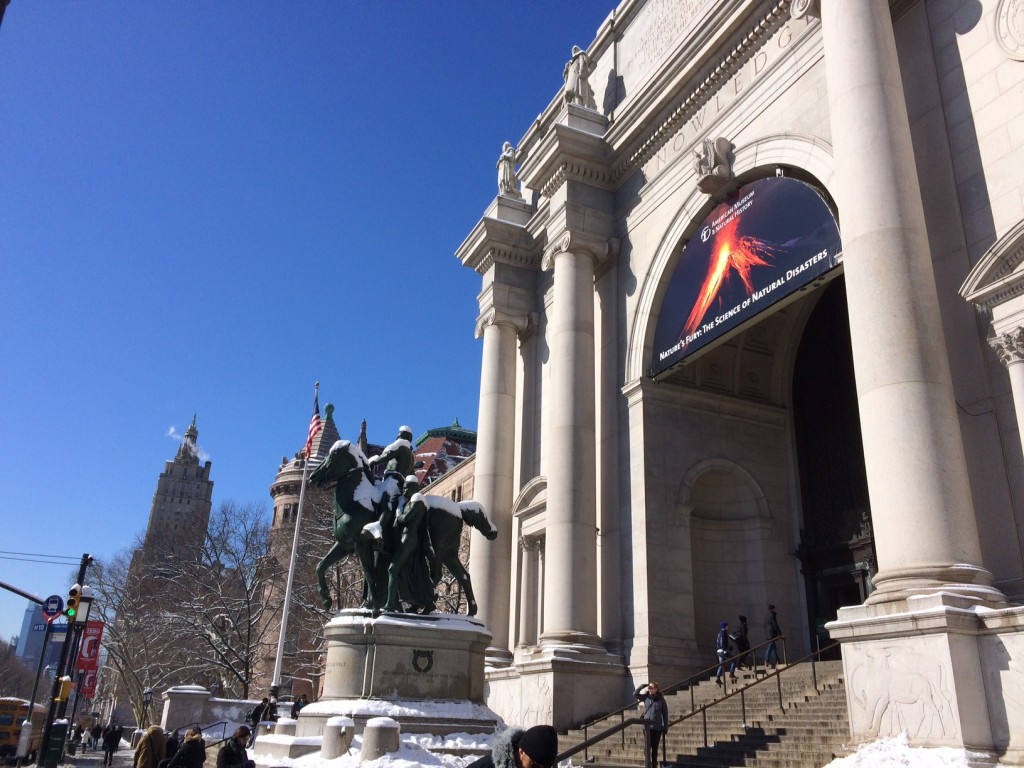 American Museum of Natural History (Upper West Side on the most beautiful day)