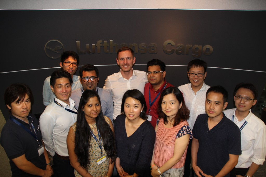 Cultural diversity - The first generation of the new Management Development Programme in Asia-Pacific