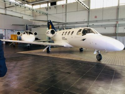 Citation–Hanger LAT