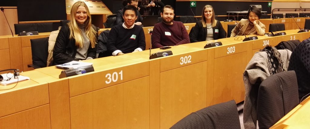 LHG-Trainees in the European Parliament (TRAN-Committee)