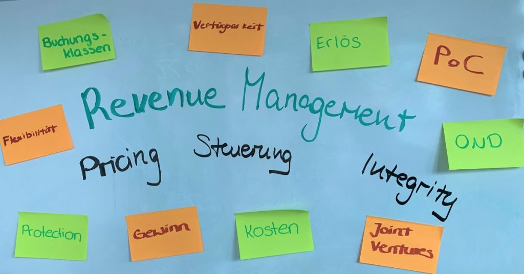 Brainstorming zum Thema Revenue Management
